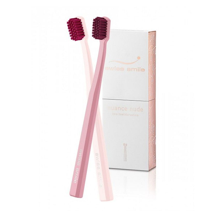 nuance nude two toothbrushes