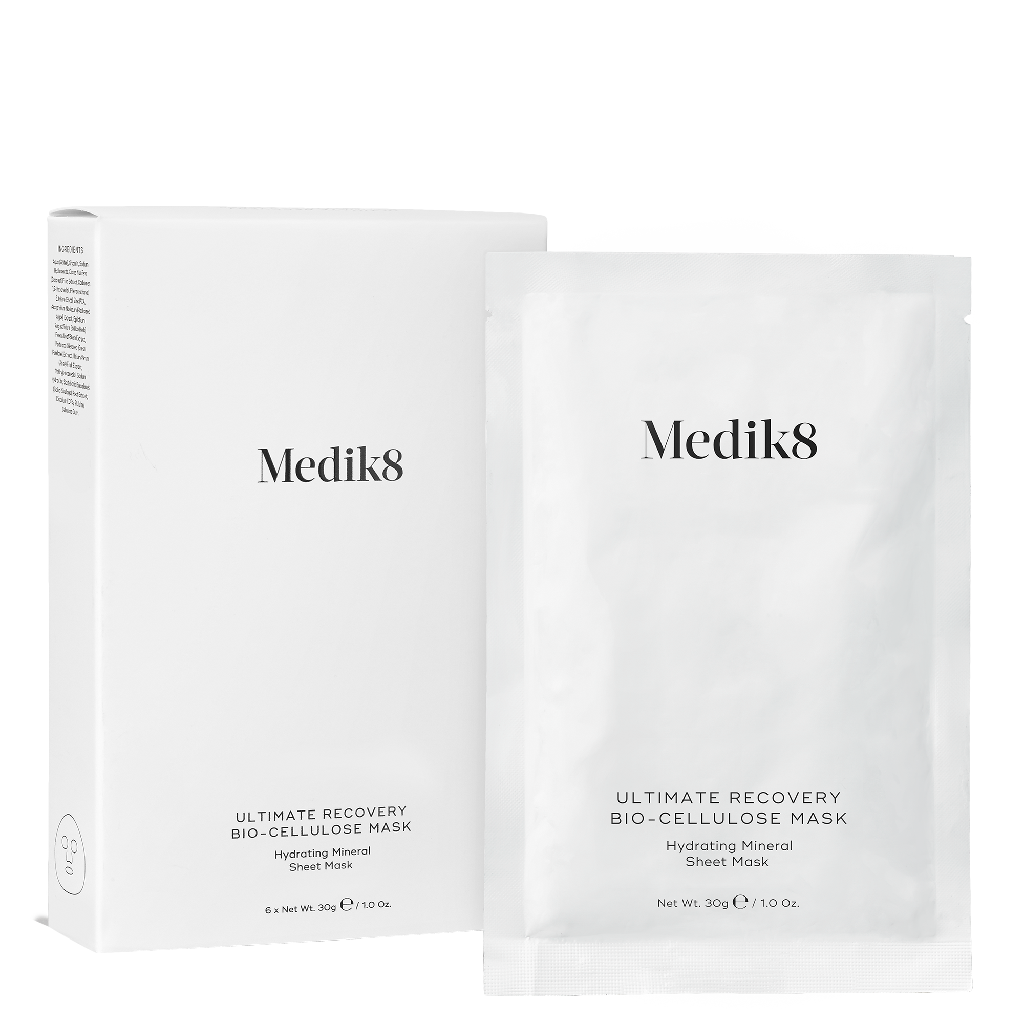 Ultimate Recovery Bio Cellulose Mask